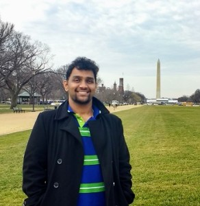 Murthy in the National Mall