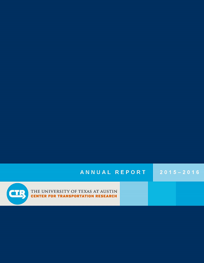 CTR Releases Its 2015–16 Annual Report