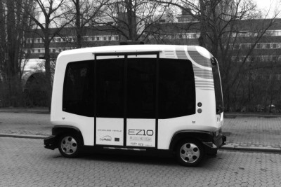 CTR Hosting Self-Driving Minibus Demo during SXSW
