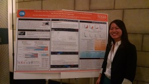 Alice Chu presented her team's research on collision warning systems