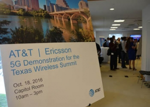 AT&T and Ericsson World Debut 5G Tech at UT Event