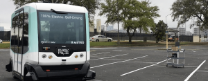 EZ10 fully autonomous shuttle