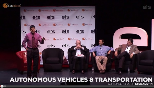CTR researchers discuss AV issues at Austin's Energy Thought Summit