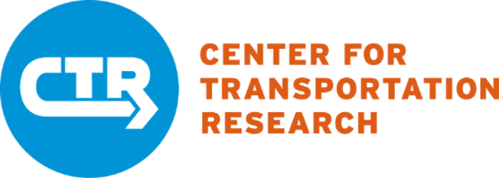 CTR, Center or Transportation Research Logo