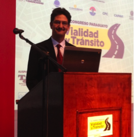 Dr. Yildirim Presents at Paraguay's First National Transportation Conference